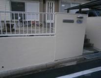 瀬戸市/S様邸外塀塗装工事